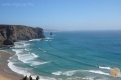 Praia da Arrifana, das beste strand zum windsurfen.