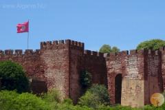 Das Schloss von Silves.