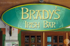 3 tha bradys bar in Carvoeiro is very popular among not only the British and Irish customers