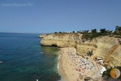 Praia Centeanes, the beach from Carvoeiro.