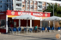 Burger Ranch, burgers in the Algarve.