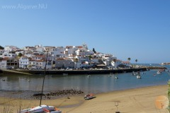 Ferragudo, een zeer populair vissersplaatsje.