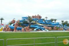 Slide  en Splash waterpark in Estombar
