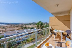 Beautiful sea view from your balcony of the apartment in the Algarve.