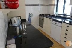 Complete kitchen with equipment. Extra shed and fridge in shed.