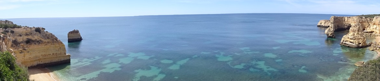 Algarve Luxus-Apartment mit Pool am Meer